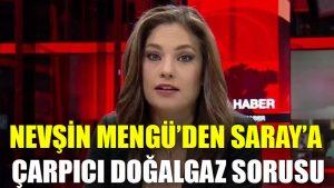 Nevşin Mengü'den Saray'a çarpıcı doğalgaz sorusu
