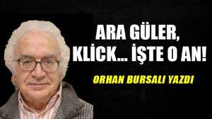 Ara Güler, klick… İşte o an!