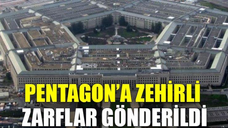 Pentagon'a zehirli zarflar gönderildi