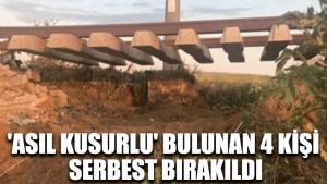 Çorlu'daki tren faciasında 'asıl kusurlu' bulunan 4 kişi serbest bırakıldı