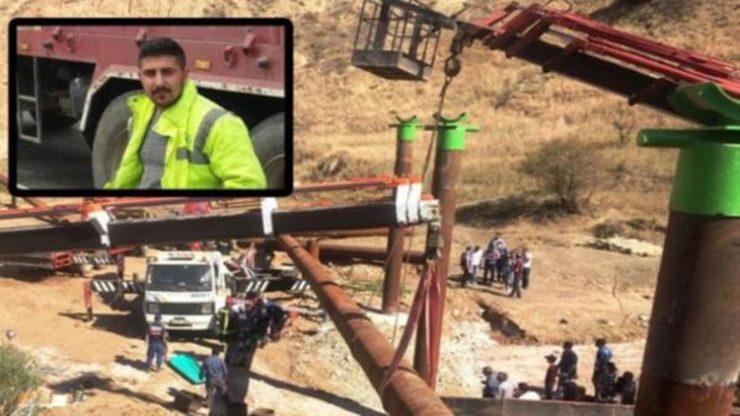 İş cinayeti: Halat kopunca vinç operatörü canından oldu