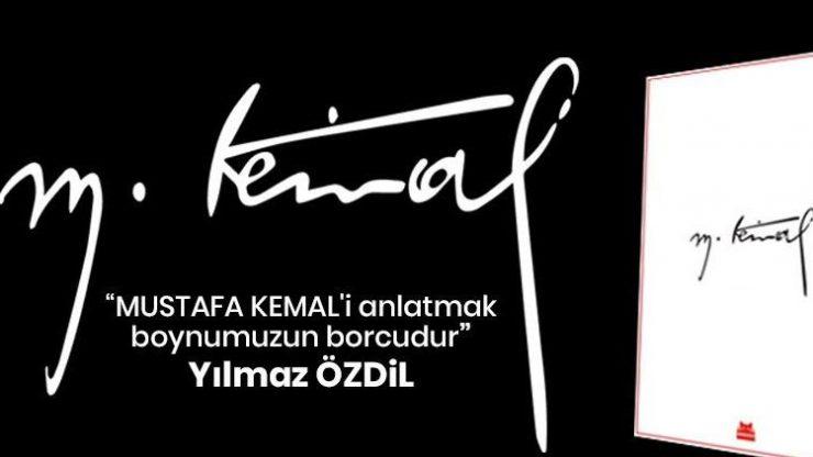Yılmaz Özdil'in Mustafa Kemal kitabı rekorları altüst ediyor