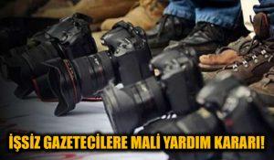 İşsiz gazeteciler çok sevinecek! İşsiz kalan medya çalışanlarına 2.3 milyon euro yardım