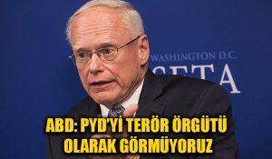 ABD'nin Suriye Özel Temsilcisi: PYD, PKK'nın uzantısı ama terör örgütü olarak görmüyoruz