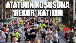 Atatürk koşusuna 'rekor' katılım