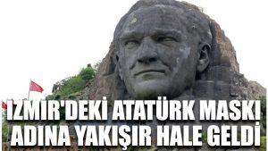 İzmir'deki Atatürk Maskı adına yakışır hale geldi