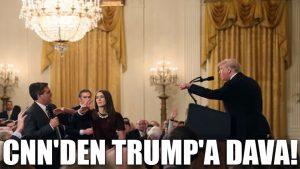CNN'den Trump'a dava!