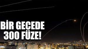 300 roket atıldı, çok sayıda ölü var