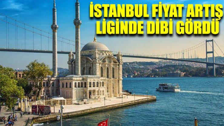 İstanbul fiyat artış liginde dibi gördü