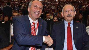 Bugün Kılıçdaroğlu ile İnce görüşecek