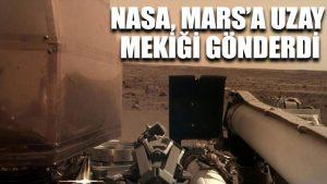 NASA, Mars'a uzay mekiği gönderdi