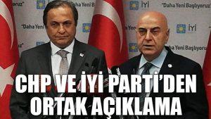 Kılıçdaroğlu-Akşener görüşmesi: İki partiden ortak açıklama