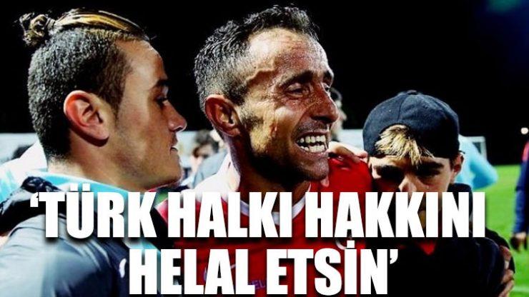 Gazi Osman Çakmak: Penaltıyı kaçırdım, Türk halkı hakkını helal etsin!