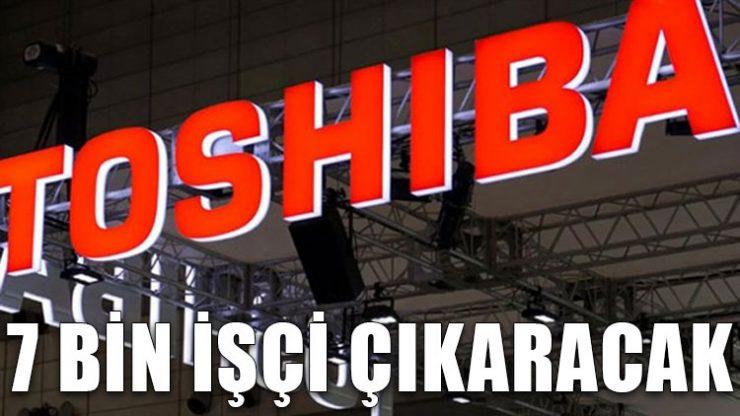 Toshiba 7 bin işçiyi işten çıkaracak
