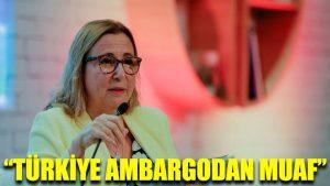 Bakan açıkladı: Türkiye ambargodan muaf