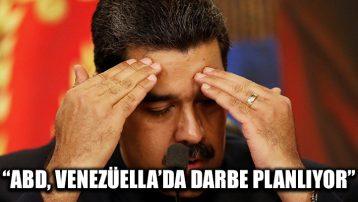 Venezüella Devlet Başkanı Maduro: ABD, Venezüella'da darbe yapmak istiyor