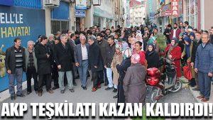 AKP teşkilatı kazan kaldırdı!