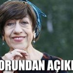 Ayşen Gruda'nın sağlık durumuyla ilgili doktorundan açıklama