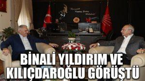 Binali Yıldırım ve Kılıçdaroğlu görüştü