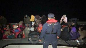 Çanakkale'de operasyon: 114 göçmen yakalandı, 13 kaçakçı tutuklandı