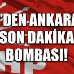Ankara büyükşehir adaylığı için CHP'den son dakika bombası!