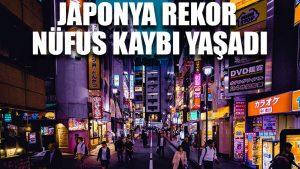 Japonya rekor nüfus kaybı yaşadı