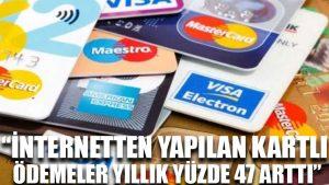 BKM: İnternetten yapılan kartlı ödemeler yıllık yüzde 47 arttı