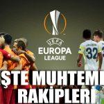 İşte Galatasaray ve Fenerbahçe'nin muhtemel rakipleri
