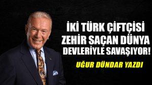 İki Türk çiftçisi zehir saçan dünya devleriyle savaşıyor!..