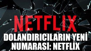 Dolandırıcıların yeni numarası: Netflix