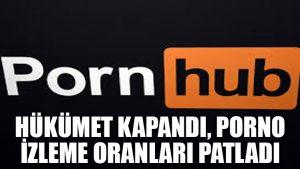 Hükümet kapandı, porno izleme oranları patladı