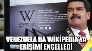 Venezuela da Wikipedia'ya erişimi engelledi