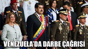Venezuela'da darbe çağrısı