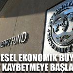 IMF: Küresel ekonomik büyüme hız kaybetmeye başladı