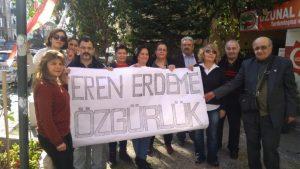 CHP Maltepe'den Eren Erdem'e destek
