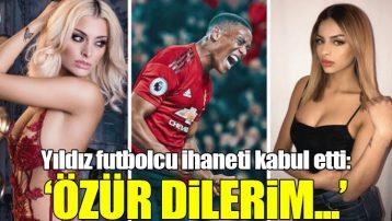 Yıldız futbolcu ihaneti kabul etti: Özür dilerim...