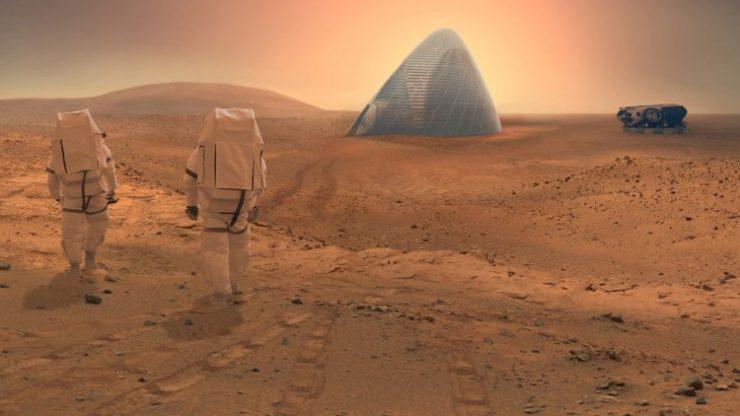 Mars'a tek yönlü yolculuk projesi sunan şirket iflas etti!