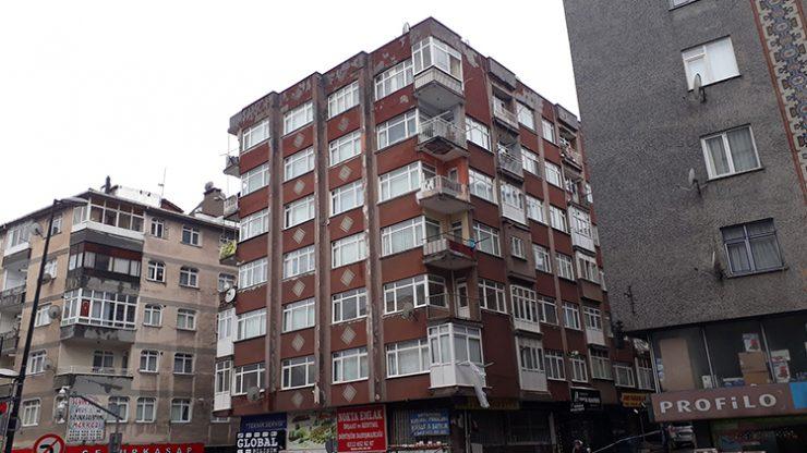 İstanbul'da bir bina daha boşaltıldı