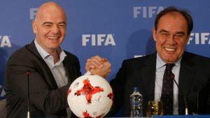 Demirören'in davetlisi FİFA Başkanı'ndan tuhaf benzetme: Türkiye'de 1 numaralı din futbol