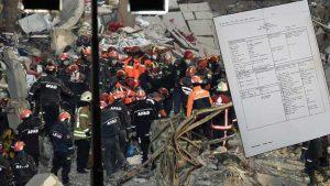 CHP, çöken binanın Kartal Belediye Başkanı'na ait olmadığını belge ile açıkladı