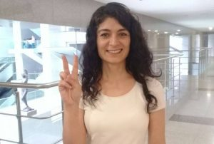 Gazeteci İsminaz Temel tahliye edildi