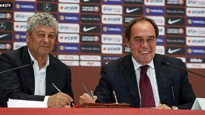 Lucescu, TFF'ye teklifini açıkladı: 'Ya uzatın ya da…'